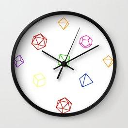 DnDie Wall Clock