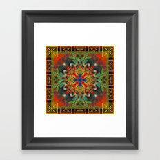 Mandala #10 Framed Art Print
