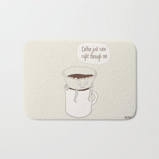 Coffee Runs Bath Mat
