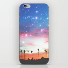 LA NIGHTS iPhone & iPod Skin