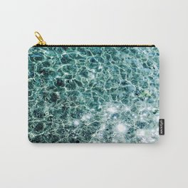 Seaside marble Carry-All Pouch