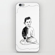 Portrait of a Victorian Baby iPhone & iPod Skin