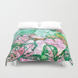 Rain + Nature Duvet Cover