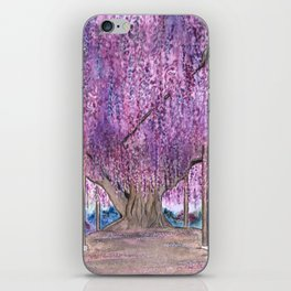 150+ Years Old Wisteria Tree – Sacred Tree Series iPhone Skin