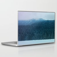 oregon Laptop & iPad Skins featuring Oregon Winter by Leah Flores