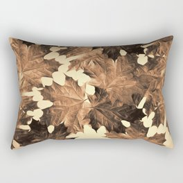 Autumn Sepia Rectangular Pillow