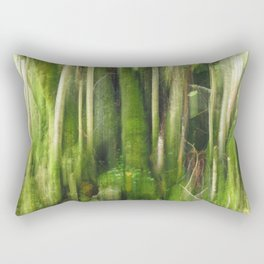 Green Before Autumn Rectangular Pillow