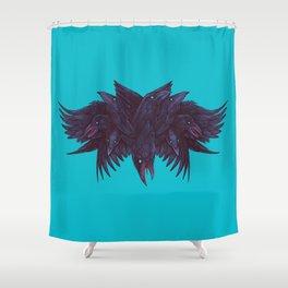 Crowberus Reborn Shower Curtain