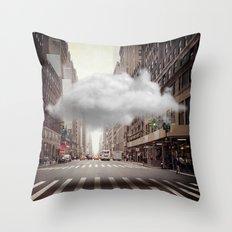 Under a Cloud II Throw Pillow