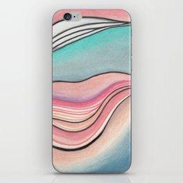 Pastel Marble iPhone Skin