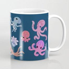Octopus - dark Kaffeebecher