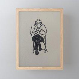 Bernie Mittens Framed Mini Art Print
