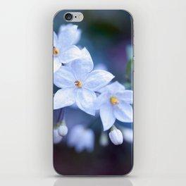 Jasmine Nightshade Flowers #3 #floral #art #society6 iPhone Skin