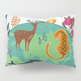 Once Destroyed Nature's Beauty Cannot Be Repurchased At Any Price Pillow Sham