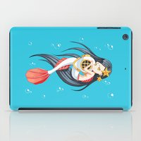 little mermaid iPad Cases featuring Mermaid by Freeminds