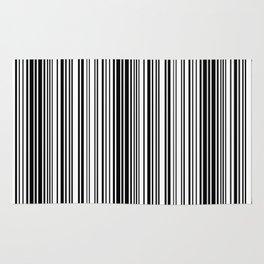 Barcode Pattern Rug