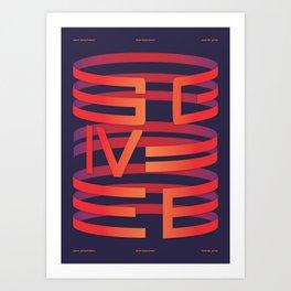 Give Art Print