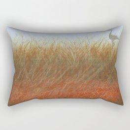 Autumn Marsh Rectangular Pillow