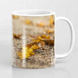 Fallen Autumn Leaves 12 Coffee Mug