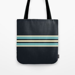 Fusahide - Classic 70s Retro Stripes Tote Bag