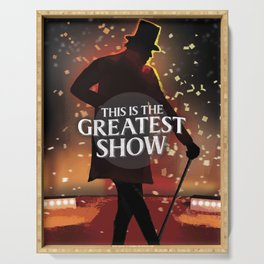 The Greatest Showman Serving Tray