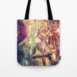 The King and The Sun Tote Bag