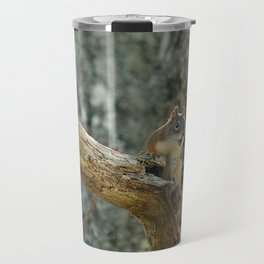 Brown Squirrel Travel Mug