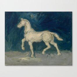 """Vincent van Gogh """"Plaster Statuette of a Horse"""" Canvas Print"""