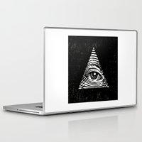 illuminati Laptop & iPad Skins featuring Illuminati by Jenny Joleen