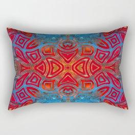 The Easter Bunny Visual Enigma III Rectangular Pillow