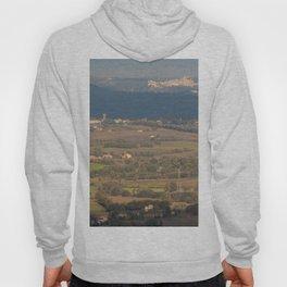 Italian countryside landscape Hoody