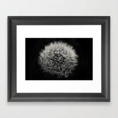 Dark Dandy Framed Art Print