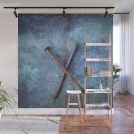 Two Nails Wall Mural