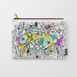 Parana fish Carry-All Pouch