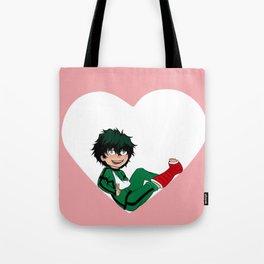 <3 Midoriya Izuku Tote Bag