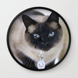 Innocent Expression Wall Clock
