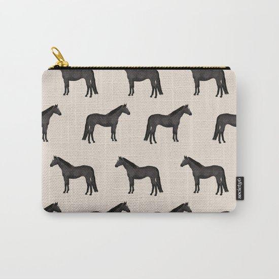Black horse farm animal horses gifts by farmfriendly