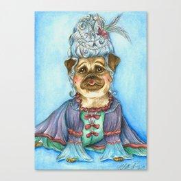 Marie Pugtoinette Canvas Print