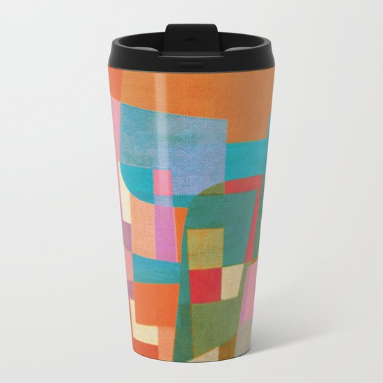 Burton Wasserman in Copacabana Metal Travel Mug