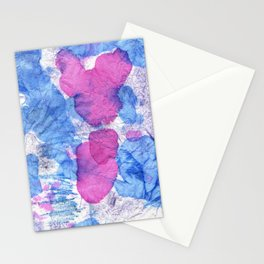 bisexual abstract Stationery Cards