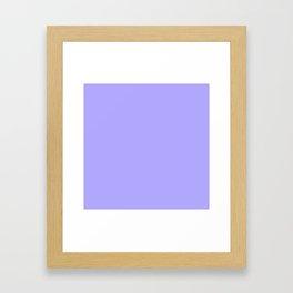 Pastel Lavender Framed Art Print