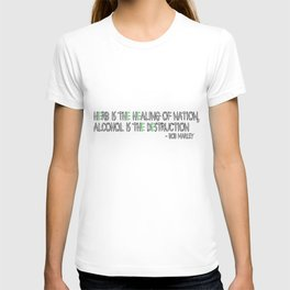 HERBS AND ALCOHOL T-shirt