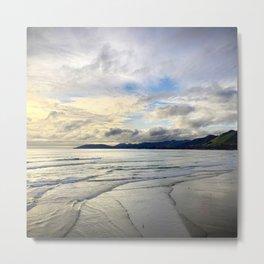 Pismo Beach, California Dramatic Ocean Sunset Metal Print