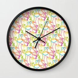 Cute Bunnies Wall Clock