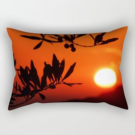 Italian Sunset Rectangular Pillow