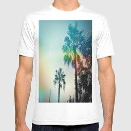 Palm trees of Barcelona T-shirt