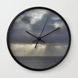 Storm Rays  Wall Clock