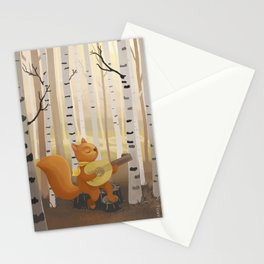 Morning practice Stationery Cards