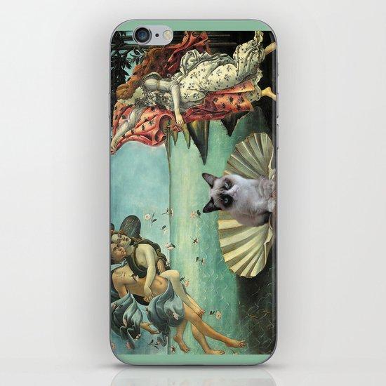 Birth Of Grumpy Cat iPhone & iPod Skin