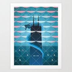 Year Of The Dragon - Owen Donald Verly Art Print